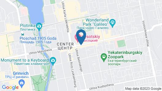 Apartments Vysotsky Map