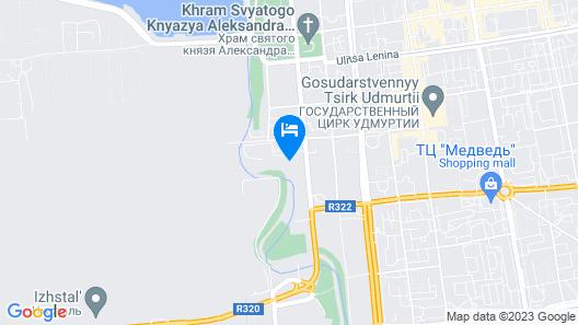 Ethnocomplex Bobrovaya Dolina Map