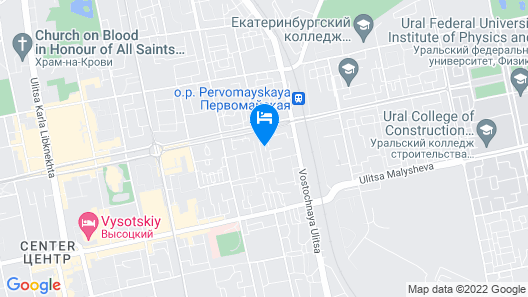 Ural Hotel Map