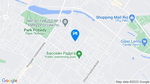 Hostel SV Map