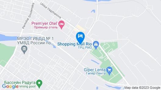 Hotel Teremok Moskovskiy Map