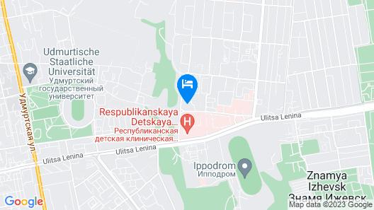 Izhhotel Map