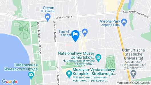 Ubileynaia Map