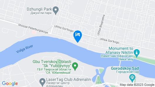 Barskaya Usadba Country Club Map