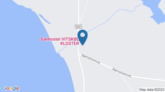 Danhostel Vitskøl Kloster Map