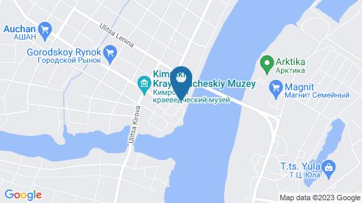 Chaika Hotel Map