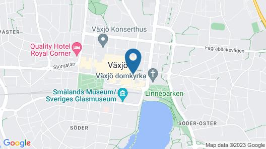 Elite Stadshotellet Växjö Map