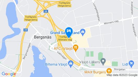 Scandic Växjö Map