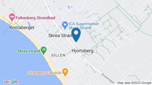 Skrea Vandrarhem Map