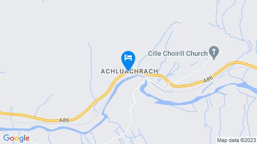 Glenspean Lodge Hotel Map