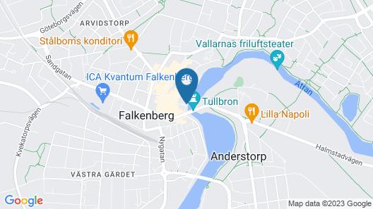 Grand Hotel Falkenberg Map