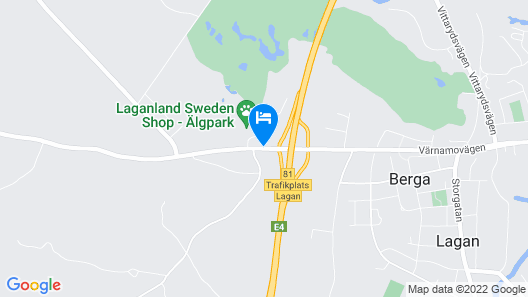 Sure Hotel Lagan by Best Western Map