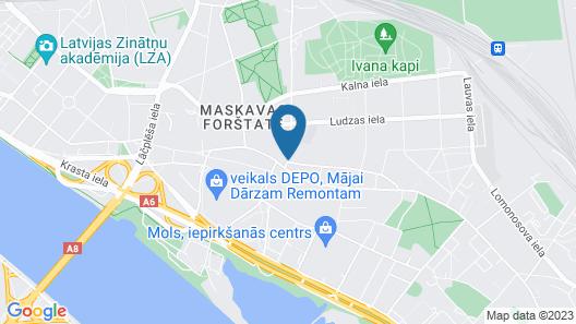 Dodo Hotel Map
