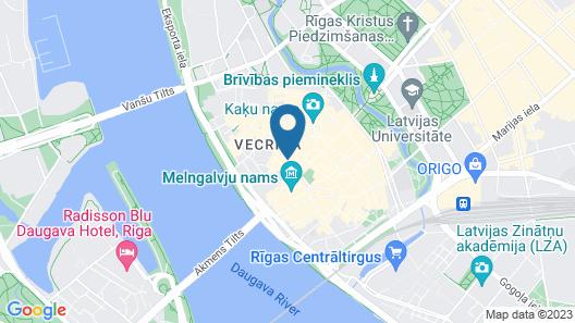 Rija Domus Hotel Map