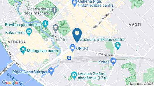 Tallink Hotel Riga Map