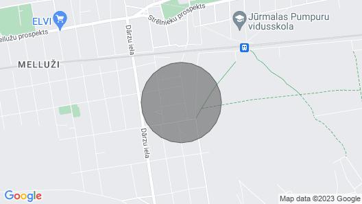 Melluzi Apartment 15 min From Beach Map
