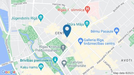 Mosaic Center Apartments Map