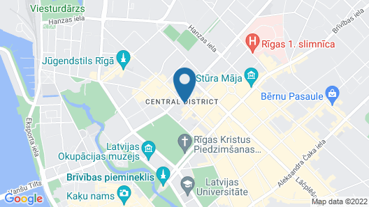 Hotel Edvards Map