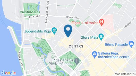AC Hotel by Marriott Riga Map