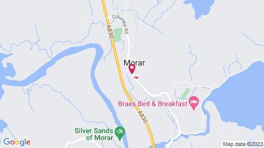 Morar Hotel Map