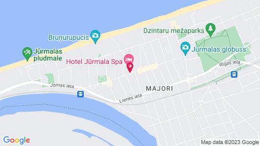 Hotel Jurmala Spa & Conference Center Map