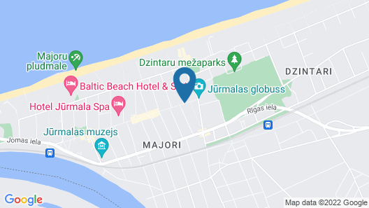 Villa Joma Hotel Map