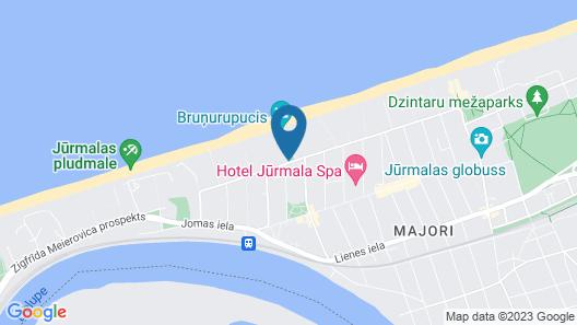 Baltic Beach Hotel & SPA Map