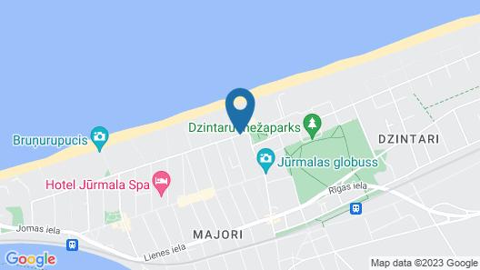 Boutique Spa Hotel Pegasa Pils Map