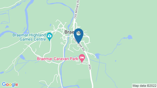 Braemar Lodge Hotel Map