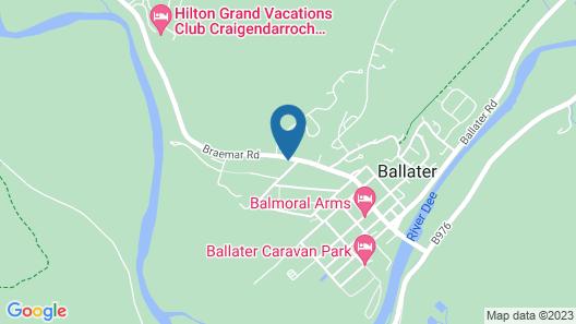 Glenernan Self Catering Cottages Map