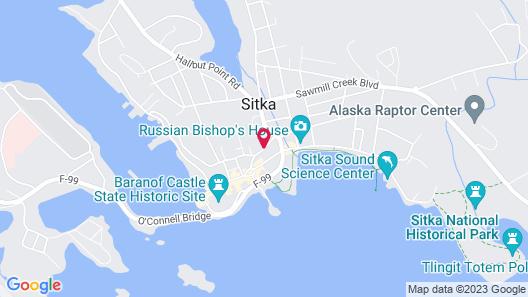 Westmark Sitka Map