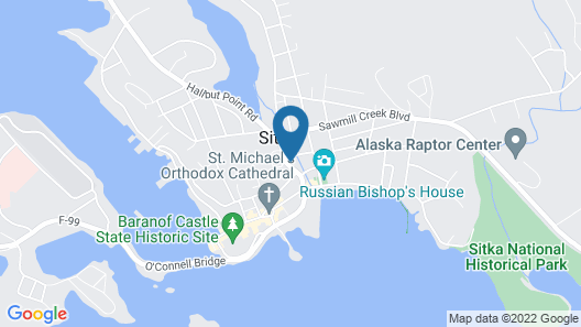 Aspen Suites Hotel Sitka Map