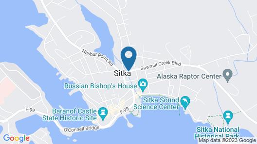 Super 8 by Wyndham Sitka Map