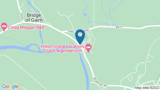 Hilton Grand Vacations at Craigendarroch Suites Map