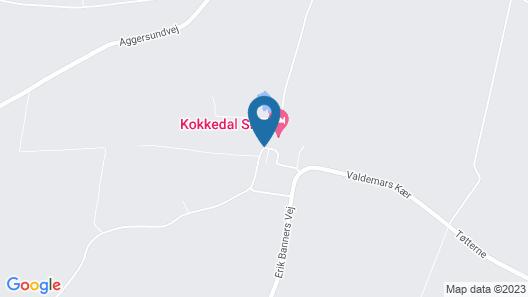 Kokkedal Slotshotel Map