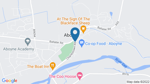 Huntly Arms Map