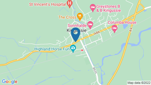 McInnes House Hotel Map