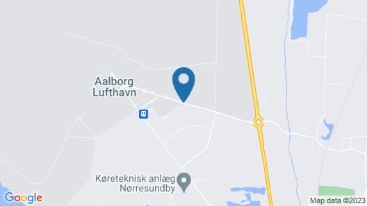 Aalborg Airport Hotel Map