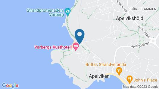 Varbergs Kusthotell Map