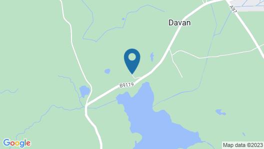 Glendavan House Map