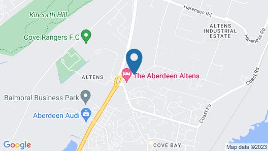 The Aberdeen Altens Hotel Map