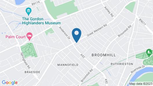Aurora Guest House Map