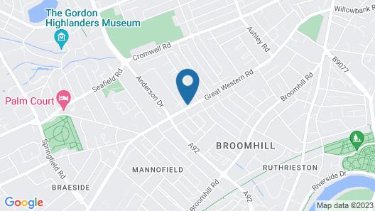 Kildonan Guesthouse Map