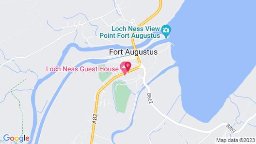 The Lovat, Loch Ness Map