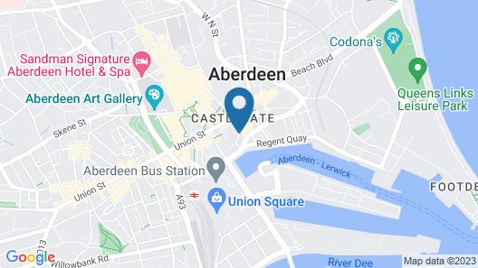 ibis Aberdeen Centre - Quayside Map