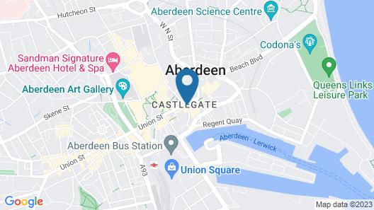 Royal Athenaeum Suites Map