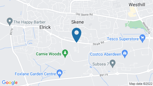 Hampton By Hilton Aberdeen Westhill Map