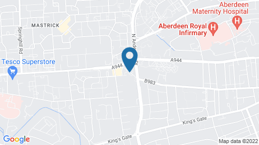 Sure by Best Western Aberdeen Map
