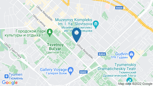 Simpatico Apart-hotel Tyumen Centre Map