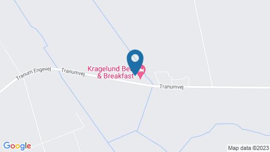 Kragelund Bed & Breakfast Map